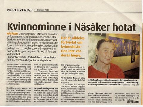 Artikel i Nordsverige om NKM